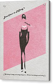 Breakfast At Tiffany's Acrylic Print by Ayse Deniz