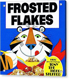 Breakfast Cereal Tony The Tiger 20160215 Square Acrylic Print
