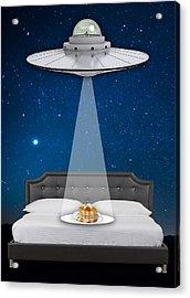 Breakfast In Bed Art Acrylic Print by Marvin Blaine