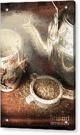 Breakfast In Bed At A Bed And Breakfast Acrylic Print by Jorgo Photography - Wall Art Gallery