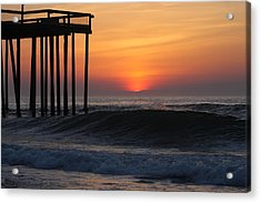 Breaking Sunrise Acrylic Print