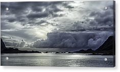 Breaking Through The Clouds Acrylic Print by Tor-Ivar Naess