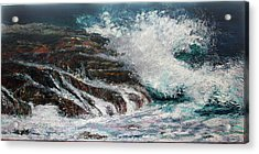 Breaking Wave Acrylic Print