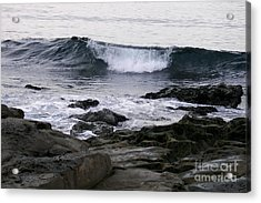 Acrylic Print featuring the photograph Breaking Waves by Carol  Bradley