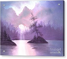 Breakthrough Acrylic Print