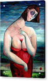 Breast Wine Acrylic Print