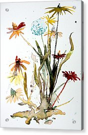 Breath Of Life Acrylic Print by Mindy Newman