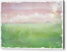 Acrylic Print featuring the digital art Breath Of Spring by Christina Lihani