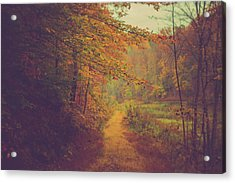 Acrylic Print featuring the photograph Breathe In Autumn by Shane Holsclaw