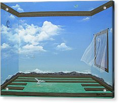 Breathing Room Acrylic Print by Sharon Ebert