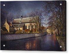 Breathtaking Bruges Acrylic Print by Carol Japp