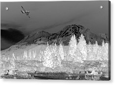 Breathtaking In Black And White Acrylic Print