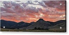 Breathtaking Sunset Acrylic Print