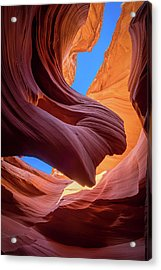 Breeze Of Sandstone Acrylic Print by Edgars Erglis