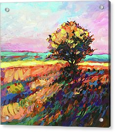 Breezes Along A Country Road Acrylic Print
