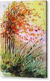 Breezes Acrylic Print by John Williams