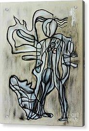 Breezy Dance Acrylic Print