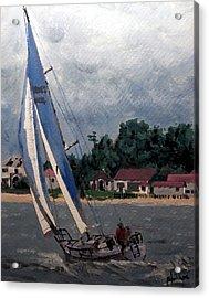 Breezy Day At Sea Acrylic Print