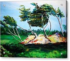 Breezy Acrylic Print
