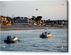 Breezy Point Bayside 2 Acrylic Print by Maureen E Ritter