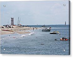 Breezy Point Lighthouse Acrylic Print