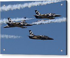 Acrylic Print featuring the photograph Breitling Convergence by John King