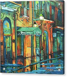 Acrylic Print featuring the painting Brennan's by Dianne Parks