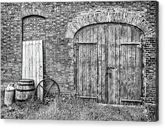 Brewhouse Door Acrylic Print