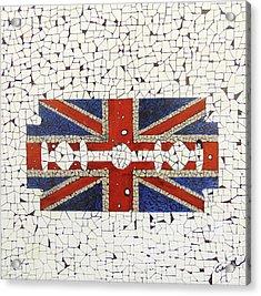 Union Jack Acrylic Print by Emil Bodourov