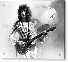 Brian May Of Queen 1975 Acrylic Print