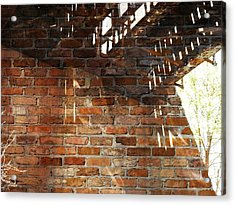Brick And Rust Acrylic Print