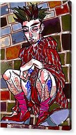 Brick Boy Acrylic Print