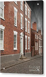 Acrylic Print featuring the photograph Brick Buildings by Juli Scalzi