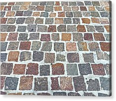 Brick By Brick Acrylic Print by Russell Keating