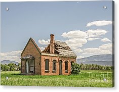 Acrylic Print featuring the photograph Brick Home In June 2017 by Sue Smith
