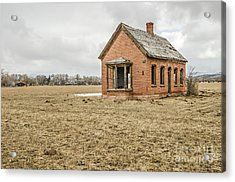 Acrylic Print featuring the photograph Brick Home In November 2015 by Sue Smith