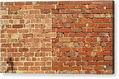 Brick Wall Acrylic Print