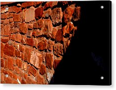 Brick Wall Acrylic Print by Jennilyn Benedicto