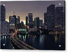 Brickell City Centre Acrylic Print