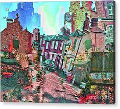 Bricks And Mortar Acrylic Print