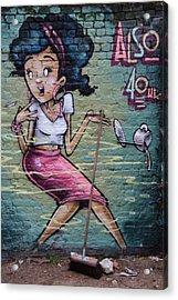 Brickwork Acrylic Print