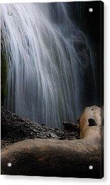 Bridal Falls Acrylic Print by Naman Imagery