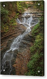 Acrylic Print featuring the photograph Bridal Veil Falls by Dale Kincaid