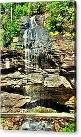 Bridal Veil Falls Highland North Carolina 2 Acrylic Print