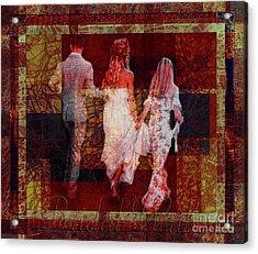 Bridal Walk Acrylic Print