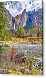 Acrylic Print featuring the photograph Bridalveil Fall  by Scott McGuire