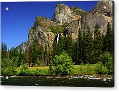 Bridalveil Falls From Gates Of The Valley Acrylic Print