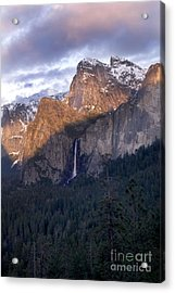 Bridalveil Falls From Tunnel View Acrylic Print