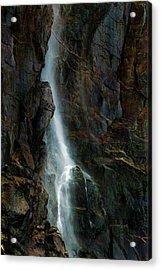 Bridalveil Falls In Autumn Acrylic Print by Bill Gallagher
