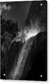 Bridalveil Falls-yosemite Acrylic Print by Jim Dohms